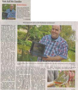 Borkener Zeitung 22.08.2011