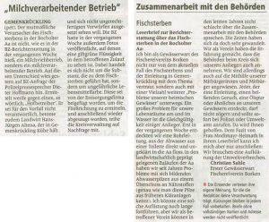 Borkener Zeitung 16.06.2015